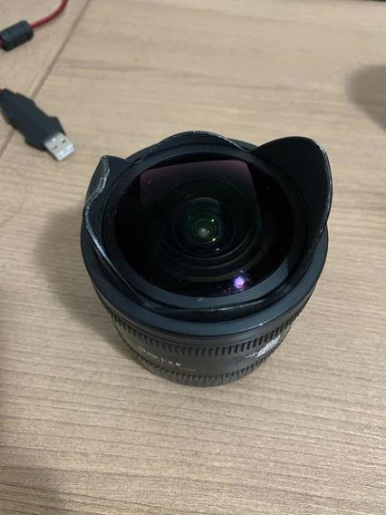 Lente Sigma Para Canon 10mm 2.8