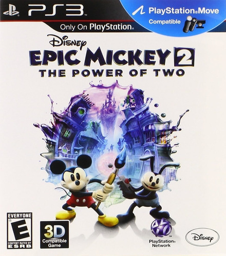 Disney Epic Mickey 2 The Power Of Two Juego Ps3 Original