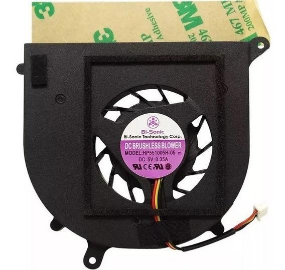 Hp551005h-05 Cooler Bi-sonic 5v 0.35a Para Notebook Com Nota
