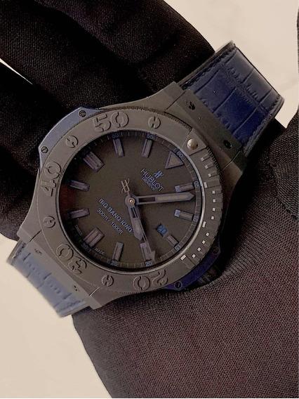 Hublot Big Bang King 48mm , All Black Blue , Serie Limitada!