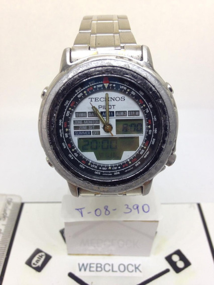 Relógio De Pulso Technos T08390 Masculino Webclock