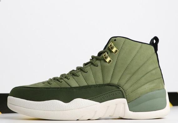 Zapatillas Nike Air Jordan 12 Moss Green 40-47
