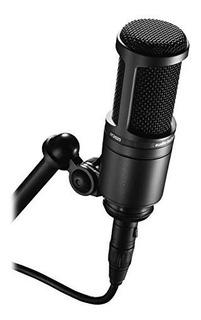 Micrófono Condensador Cardioide Audio Technica At2020