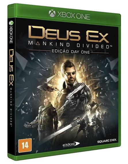 Deus Ex: Mankind Divided Xbox One Mídia Física Português Br