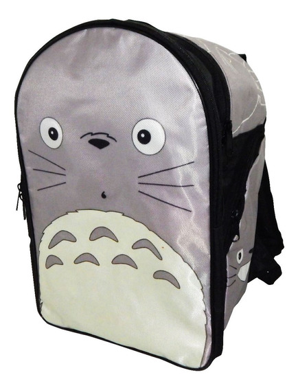 Mi Vecino Totoro Mochila Backpack Cara Face Cute Kawaii