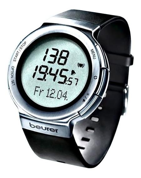 Reloj Deportivo Acabados De Acero Inoxidable, Pm80 Beurer