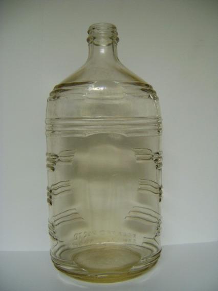Antigua Botella Labrada Producto San Salvador