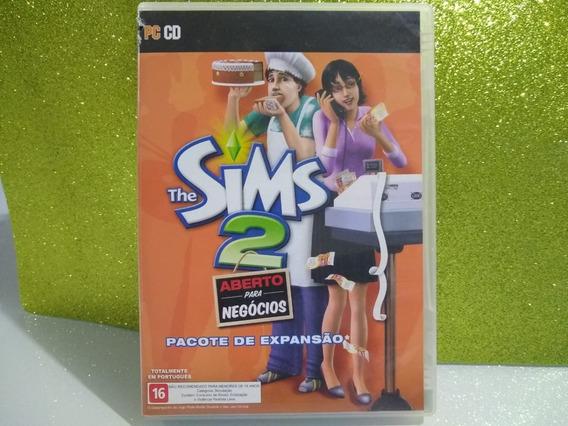 Jogo The Sims 2 Aberto Para Negocios Original Usado