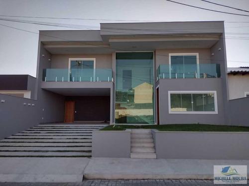Imagem 1 de 15 de Casa Alto Padrão Para Venda Em Araruama, Pontinha, 4 Dormitórios, 4 Suítes, 2 Banheiros, 4 Vagas - 130_2-314568