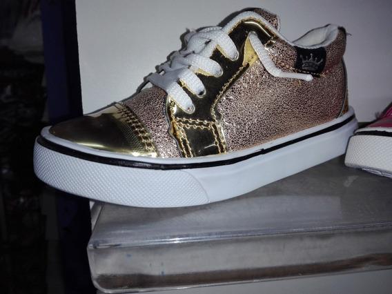 Zapatillas Ecocuero Nenas Brillosas!!!!! Unicas!!