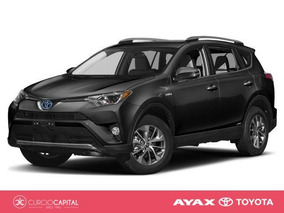 Toyota Rav4 Rav 4 Hibirda 4x2 2018 Negro 0km