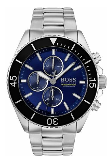 Relógio Masculino Hugo Boss Ocean Edition 1513704 Completo
