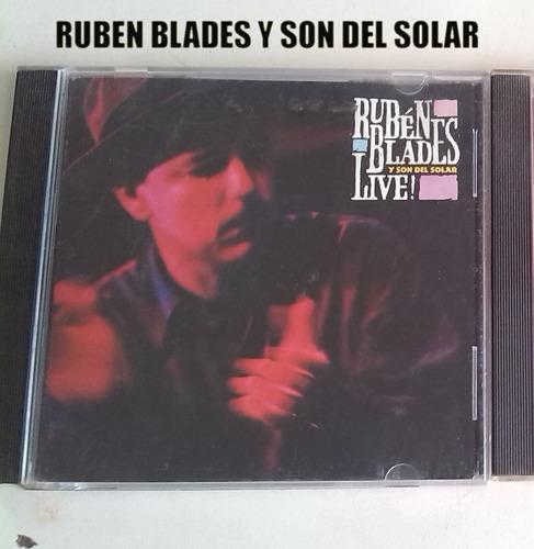 Cd Rubén Blades / Varios Original 1