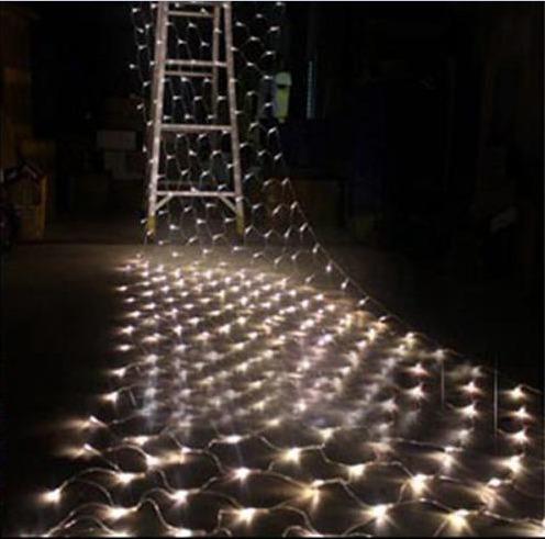 Rede De Led Decoração Natal 110v 5m X 80cm 8 Funções