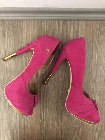 Sapato Rosa Carmen Steffens