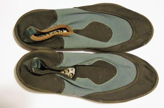 Zapatos Zapatillas Para Mar Surf-moc (requiere Plantilla)