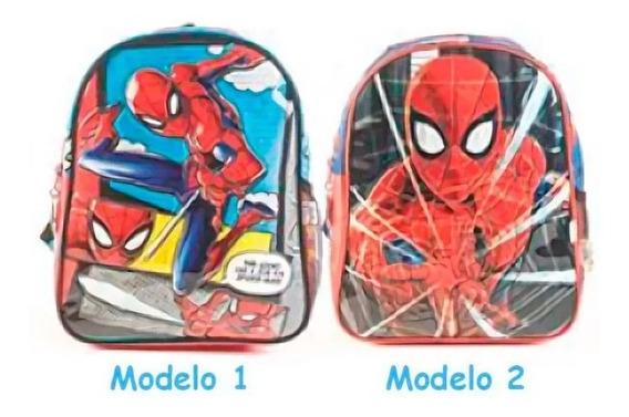 Mochila Spiderman 12 Pulgadas 62300 Original!!