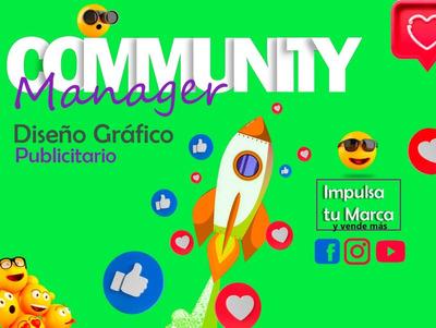 Manejo De Redes Sociales,community Manager,marketing Digital