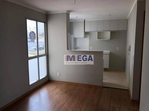 Imagem 1 de 14 de Apartamento Com 2 Dormitórios À Venda, 49 M² Por R$ 200.000,00 - Jardim Antonio Von Zuben - Campinas/sp - Ap4897