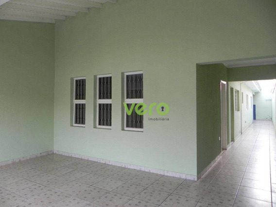 Casa Para Locação Com 2 Dormitórios Para Alugar, 128 M² Por R$ 1.100/mês - Parque Residencial Jaguari - Americana/sp - Ca0233