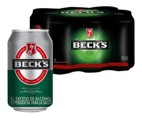 Cerveza Beck's Sixpack De 355ml Lata