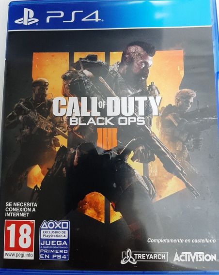 Call Of Duty Blak Ops 4 Ps4