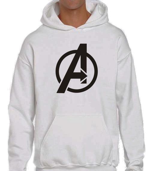 Sudadera Hoodie Con Estampado De Avengers Marvel
