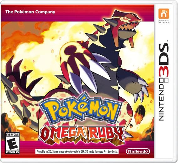 Pokémon Omega Ruby 3ds Mídia Física