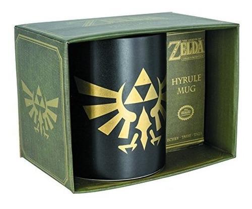 La Taza De Cafe De Ceramica Legend Of Zelda Hyrule - Edicion