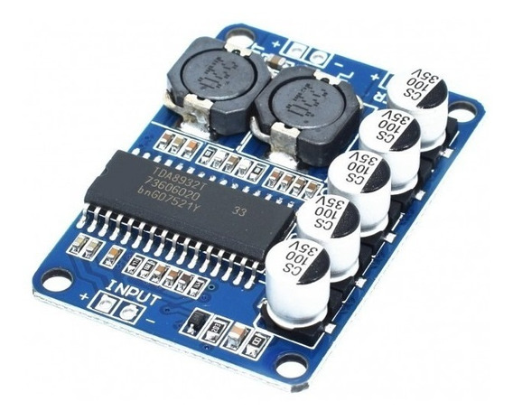 Módulo Amplificador De Potencia Digital 35w Mono Arduino