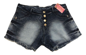 05 Short Jeans Com E Sem Lycra Hotpant Com Preço De Atacado