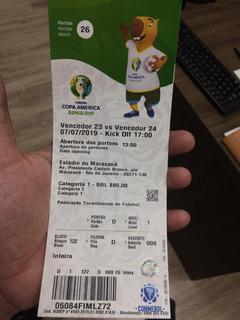Ingressos Para A Final Da Copa America