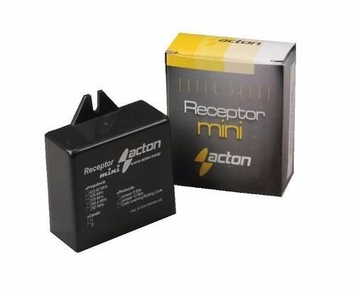 Receptor Rx 1 Rele Para Centrais Portão Eletrônico E Alarme