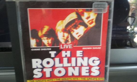 Cd Rolling Stones - Live