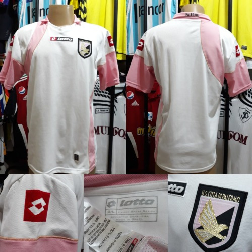 Camisa Palermo- Lotto- G- 2009/10- S/n°- Away