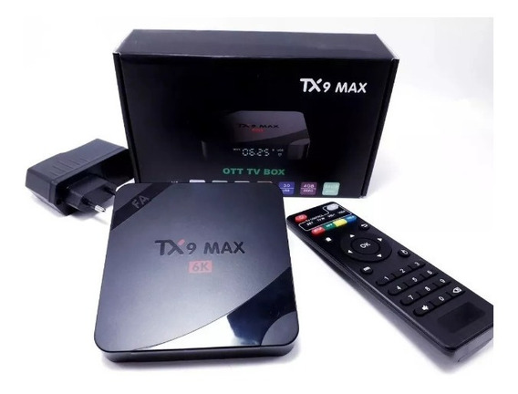 Transformesua Tv Emsmart Tx9max Androide9.0 4gb Frentegratis