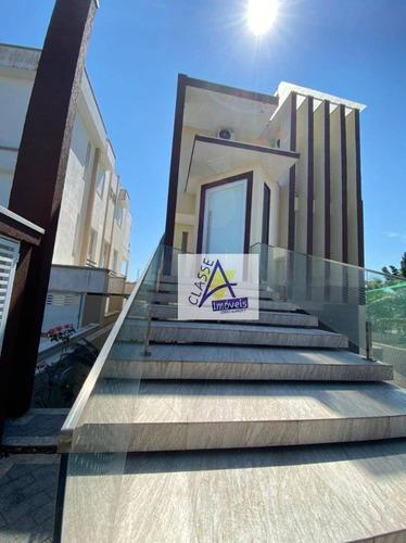 Casa Condominio Fechado Arua , Mogi Das Cruzes Sp - Ca0252