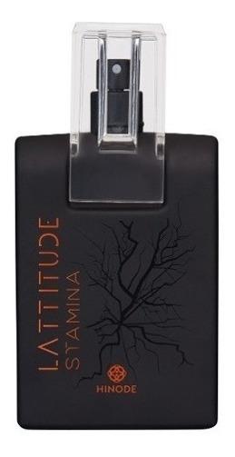 Perfume Lattitude Stamina Hinode 100ml Original Pronta Entre