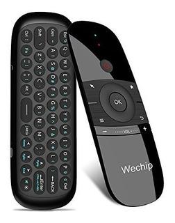 Mini Air Mouse, Wechip 2.4g Smart Tv Teclado Inalámbrico Fly