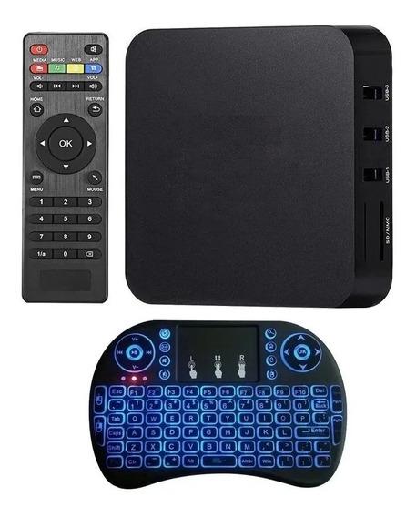 Convertir Televisor A Smart Tv Android 9 Mejorado Y Teclado