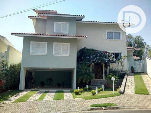 Casa Com 4 Dormitórios À Venda, 286 M² Por R$ 1.200.000,00 - Jardim Soleil - Valinhos/sp - Ca4083