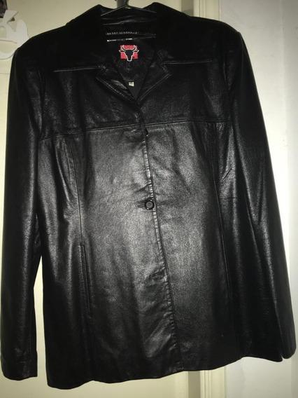 Jaqueta De Couro Black Bull Tamanho 48 G