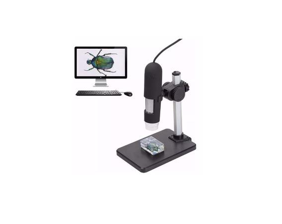 Microscópio 1000x Hd Profissional Digital Usb Com Suporte
