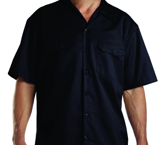 Camisa Mecânico Workshirt Garage Sem Estampa