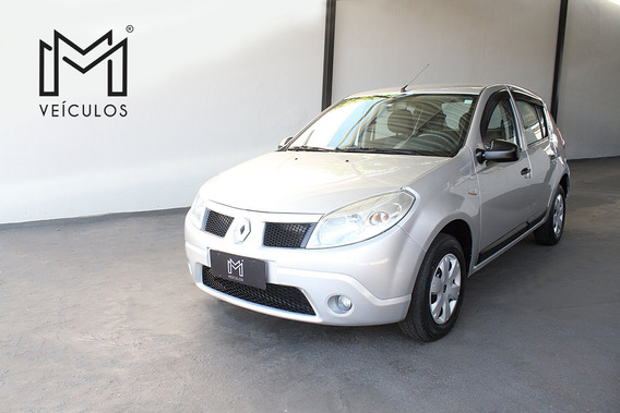 Renault Sandero Authentique 1.6 Prata 2010
