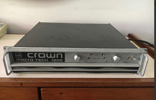 Potencia Crown Ma 1200 Made In Usa Fierro