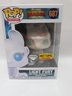 Funko Pop How To Train Your Dragon- Light Fury 687