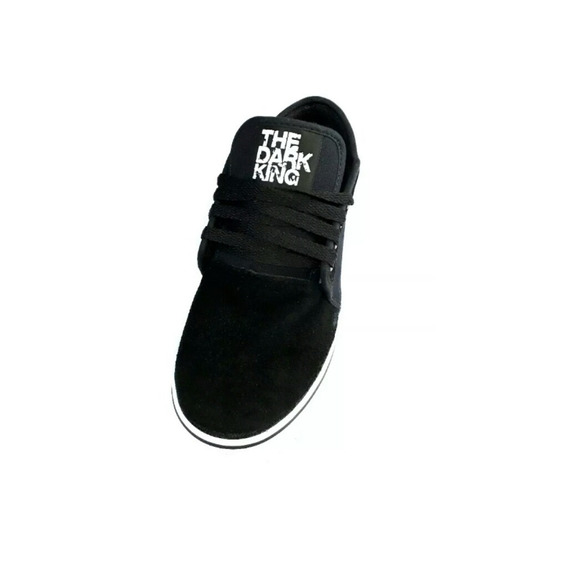 Zapatilla Skate Unisex Urbanas Negro The Dark King