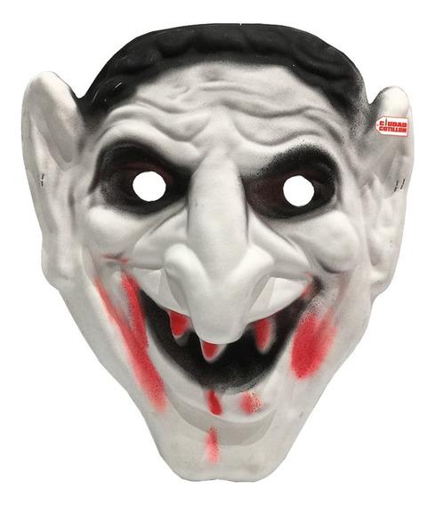 Máscara Drácula Vampiro Disfraz Halloween - Ciudad Cotillón