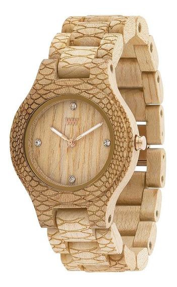 Relógio De Madeira Wewood - Antea - Wwan09
